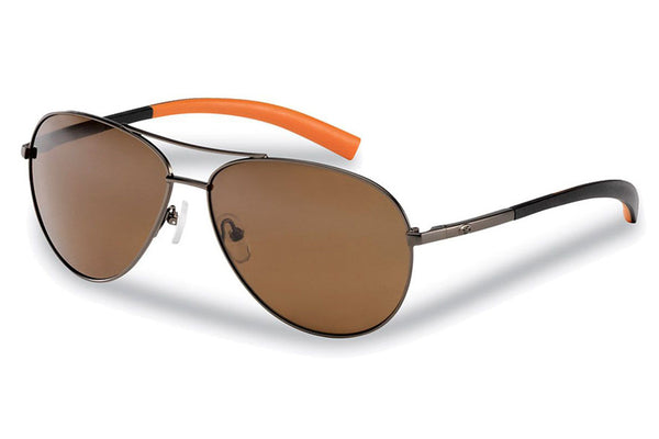 Flying Fisherman - Sombrero 7376 Copper Coral Sunglasses, Amber Lenses