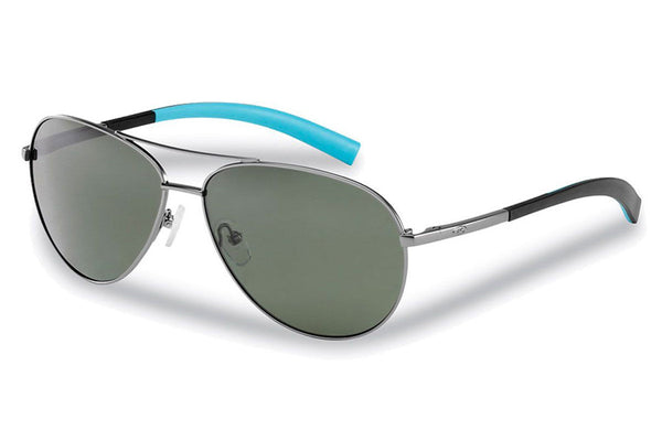 Flying Fisherman - Sombrero 7376 Gunmetal Sky Sunglasses, Smoke Lenses