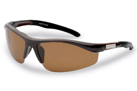 Flying Fisherman - Spector 7704 Tortoise Sunglasses, Amber Lenses