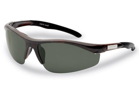Flying Fisherman - Spector 7704 Tortoise Sunglasses, Smoke Lenses