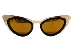 Spitfire - Apex Gold & Black Sunglasses, Gold Mirror Lenses