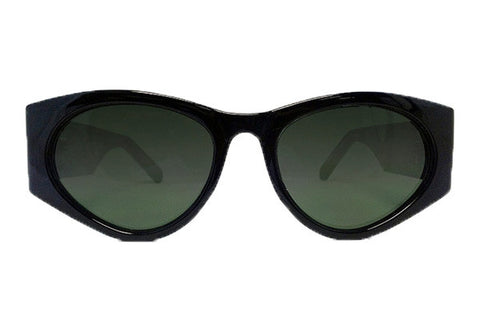 Spitfire - Cobain Black Sunglasses, Black Lenses