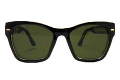 Spitfire - Coco Black Sunglasses, Black Lenses