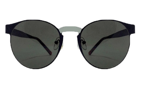 Spitfire - Endomorph Black & Silver Sunglasses, Black Lenses
