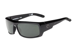 Spy - Admiral Black Sunglasses, Happy Grey Green Lenses