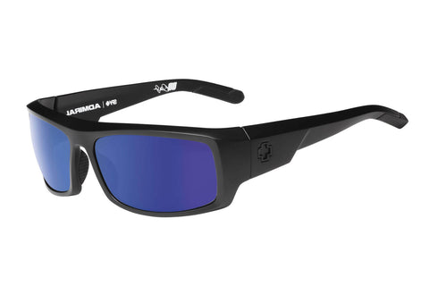 Spy - Admiral Matte Black Sunglasses, Happy Bronze Polar W/ Blue Spectra Lenses