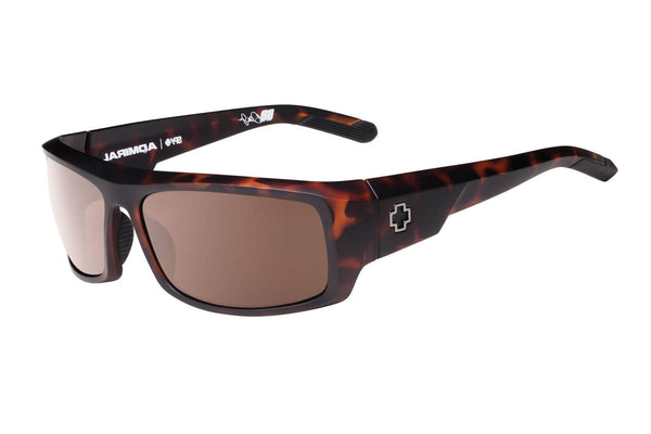 Spy - Admiral Matte Camo Tort Sunglasses, Happy Bronze Lenses