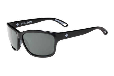 Spy - Allure Black Sunglasses, Happy Grey Green Polar Lenses