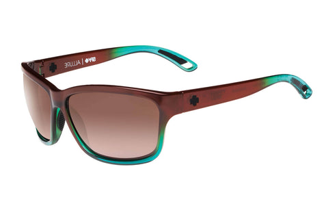 Spy - Allure Mint Chip Fade Sunglasses, Happy Bronze Polar Lenses