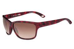 Spy - Allure Sort Matte Red Tort Sunglasses, Happy Bronze Fade Lenses