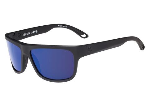 12f9ab45207 Spy - Angler Soft Matte Black Sunglasses