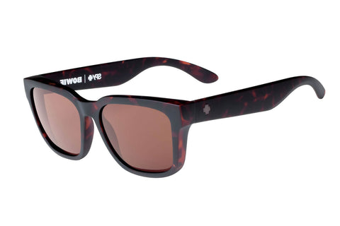 Spy - Bowie Matte Camo Tort Sunglasses, Happy Bronze Lenses