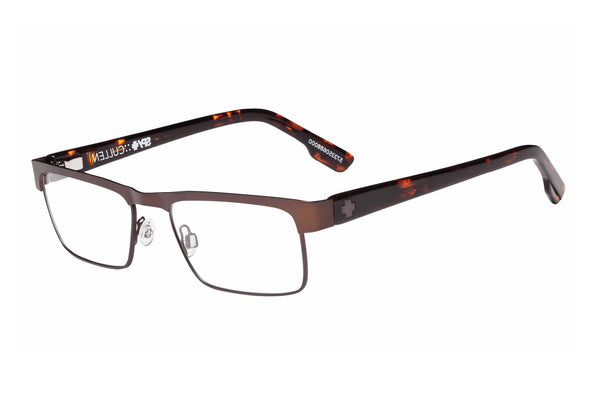 Spy - Cullen Matte Brown/Classic Camo Tort Rx Glasses
