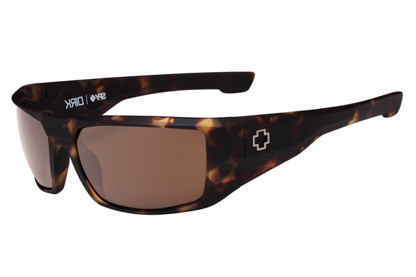 Spy - Dirk Matte Camo Tort Sunglasses, Happy Bronze Lenses