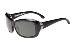 Spy - Farrah Black Sunglasses, Happy Grey Green Polar Lenses