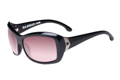 Spy - Farrah Black Sunglasses, Happy Merlot Fade Lenses