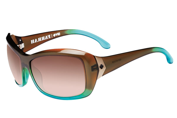Spy - Farrah Mint Chip Fade Sunglasses, Happy Bronze Fade Lenses
