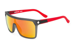 Spy - Flynn Cherry Bomb Sunglasses, Grey W/ Red Spectra Lenses