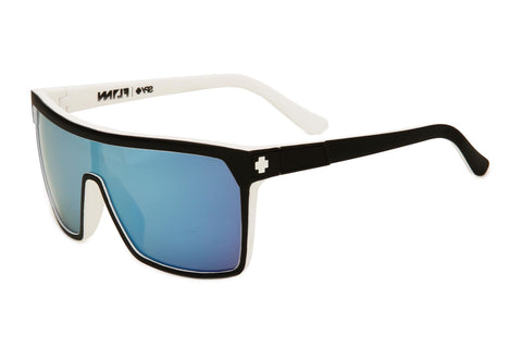 Spy - Flynn White Sunglasses, Grey W/ Light Blue Spectra Lenses