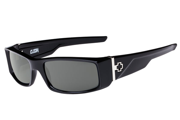Spy - Hielo Black Sunglasses, Happy Grey Green Lenses