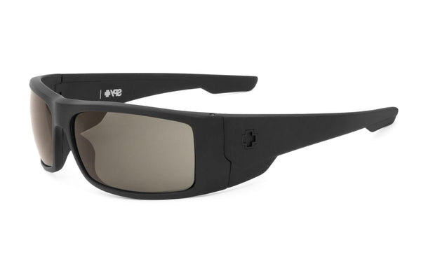 Spy - Konvoy Matte Black Sunglasses, Happy Grey Green Lenses