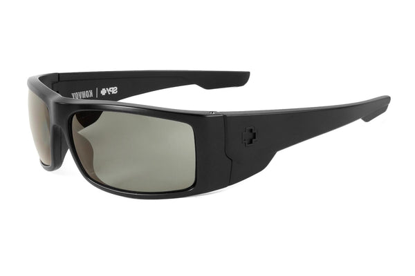 Spy - Konvoy Matte Black Sunglasses, Happy Grey Green Polar Lenses