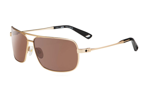 Spy - Leo Gold Sunglasses, Happy Bronze Lenses