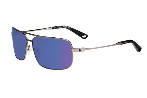 Spy - Leo Gunmetal Sunglasses, Happy Bronze W/ Blue Spectra Lenses