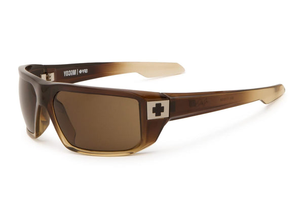 Spy - Mccoy Bronze Fade Sunglasses, Bronze Polarized Lenses