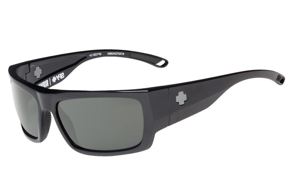 Spy - Rover Black Sunglasses, Happy Grey Green Lenses