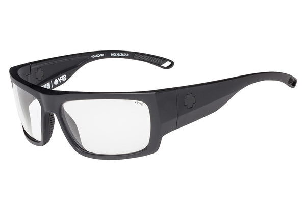 Spy - Rover Matte Black Sunglasses, Clear Lenses
