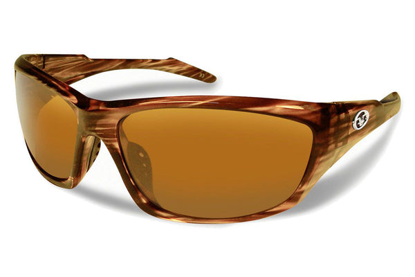 Flying Fisherman - St Croix 7317 Walnut Sunglasses, Amber Lenses