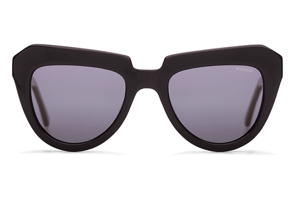 Komono - The Stella Glossy Black Sunglasses