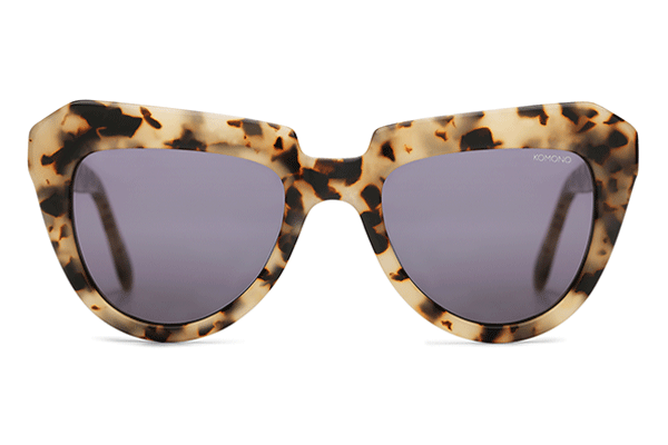 Komono - The Stella Ivory Demi Sunglasses
