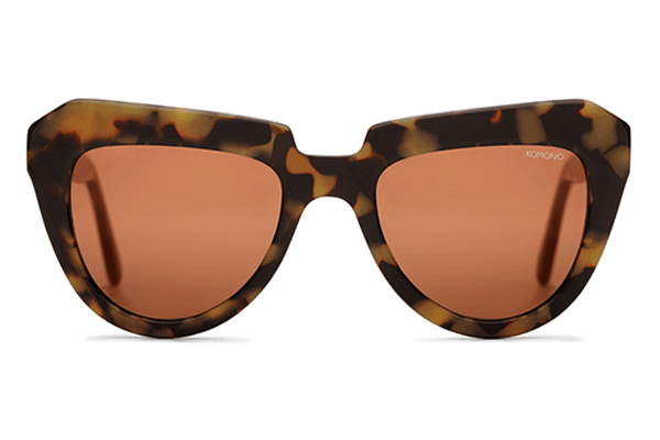 Komono - The Stella Tortoise Demi Sunglasses