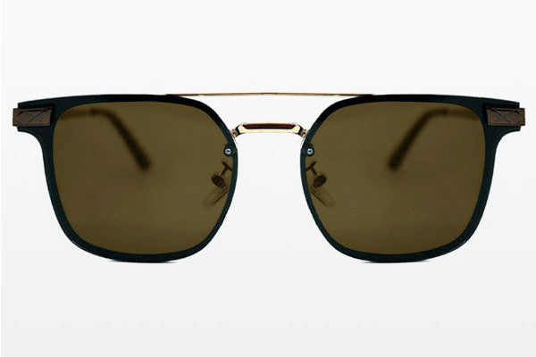 Spitfire - Subspace Silver Sunglasses, Brown Lenses
