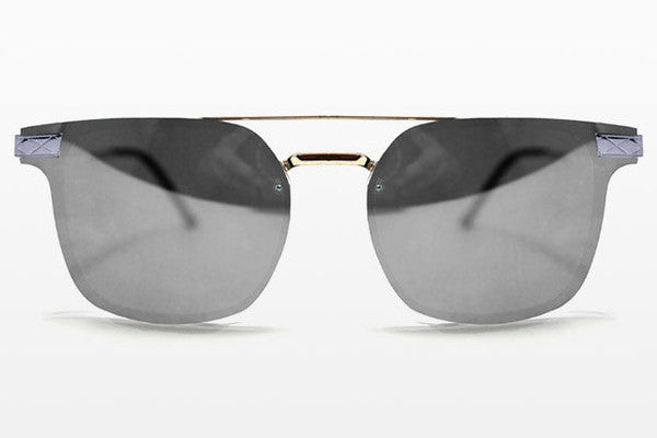 Spitfire - Subspace Silver Sunglasses, Silver Mirror Lenses