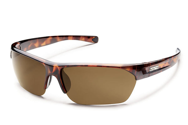 Suncloud - Detour Tortoise Sunglasses, Brown Polarized Lenses