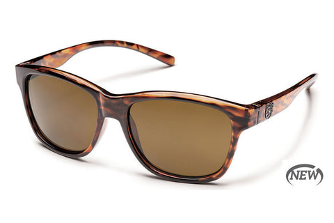 Suncloud - Pageant Tortoise Sunglasses, Brown Polarized Lenses