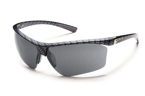 Suncloud - Roadmap Graphite Weave Sunglasses, Gray Polarized Lenses