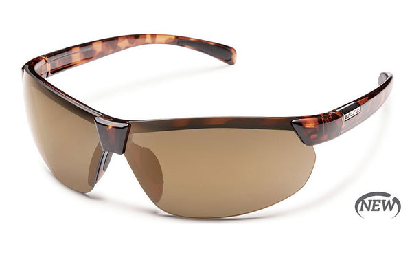 Suncloud - Switchback Tortoise Sunglasses, Sienna Mirror Polarized Lenses