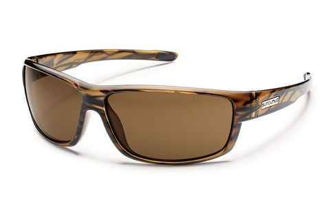 Suncloud Iris Brown Tortoise Sunglasses, Brown Polarized Lenses