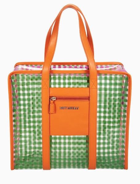 Poppy Lissiman - Supermercato Shopper Orange Maxi Bag
