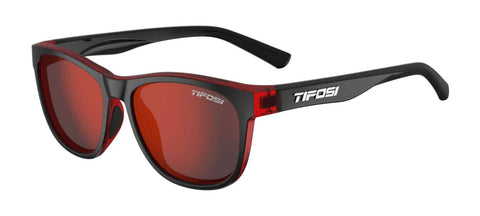 Tifosi - Swank Crimson Onyx Sunglasses / Smoke Red Lenses