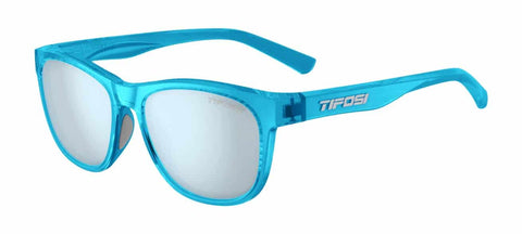 Tifosi - Swank Crystal Sky Blue Sunglasses / Smoke Bright Blue Lenses