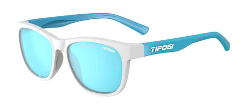 Tifosi - Swank Frost Powder Blue Sunglasses / Smoke Bright Blue Lenses