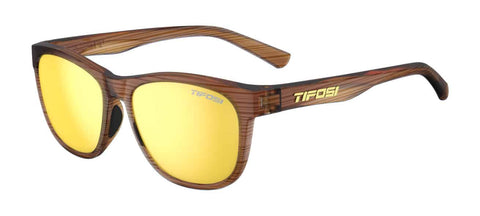 Tifosi - Swank Woodgrain Sunglasses / Smoke Yellow Lenses