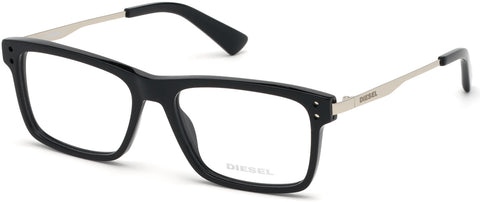 Diesel - DL5296 Shiny Black Eyeglasses / Demo Lenses