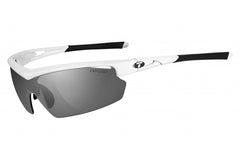 Tifosi - Talos Pearl White Sunglasses, Interchangeable AC Red / Clear / Smoke Lenses