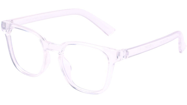 The Book Club - Twelve Hungry Bens 49mm Cellophane Eyeglasses / Screen Blue Light Clear +3.00 Lenses